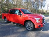 2016 Race Red Ford F150 XLT SuperCrew #110028153