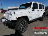 2016 Bright White Jeep Wrangler Unlimited Sahara 4x4 #110028037