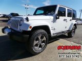 2016 Bright White Jeep Wrangler Unlimited Sahara 4x4 #110028036