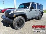2016 Billet Silver Metallic Jeep Wrangler Unlimited Sport 4x4 #110028034