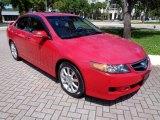 2008 Acura TSX Milano Red