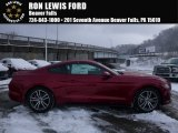 2016 Ruby Red Metallic Ford Mustang EcoBoost Coupe #110057044