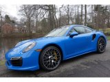 2016 Voodoo Blue, Paint to Sample Porsche 911 Turbo S Coupe #110056993