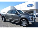 2016 Magnetic Ford F150 XLT SuperCrew #110057125