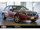 2016 designo Cardinal Red Metallic Mercedes-Benz E 350 Sedan #110057065