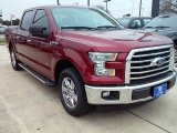 2016 Ruby Red Ford F150 XLT SuperCrew #110057013