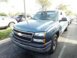 Blue Granite Metallic Chevrolet Silverado 1500 in 2006