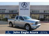 2012 Bright Silver Metallic Dodge Ram 1500 ST Quad Cab #110080626