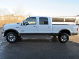2005 Oxford White Ford F350 Super Duty King Ranch Crew Cab 4x4 #110081018