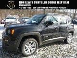 2016 Black Jeep Renegade Latitude 4x4 #110080926