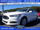 2013 White Platinum Metallic Tri-coat Ford Fusion SE #110080532