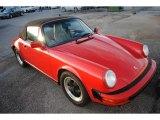 1987 Porsche 911 Carrera Cabriolet Data, Info and Specs