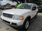 Oxford White Ford Explorer in 2004
