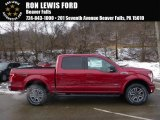 2016 Ruby Red Ford F150 XLT SuperCrew 4x4 #110115532