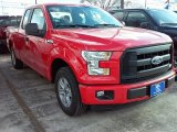 2016 Race Red Ford F150 XL SuperCab #110115511