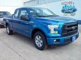 2016 Blue Flame Ford F150 XL SuperCab #110115510