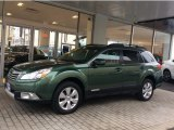 2012 Cypress Green Pearl Subaru Outback 2.5i Limited #110115801