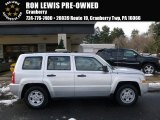 2007 Bright Silver Metallic Jeep Patriot Sport 4x4 #110115559