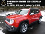 2016 Colorado Red Jeep Renegade Limited 4x4 #110115556