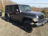 2016 Jeep Wrangler Unlimited Granite Crystal Metallic