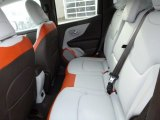 2016 Jeep Renegade Limited 4x4 Rear Seat