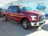 2016 Ruby Red Ford F150 XLT SuperCrew 4x4 #110163770