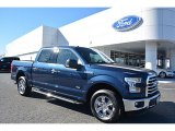 2016 Blue Jeans Ford F150 XLT SuperCrew #110163897
