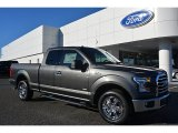 2016 Magnetic Ford F150 XLT SuperCab #110163895
