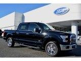 2016 Shadow Black Ford F150 XLT SuperCrew #110163894