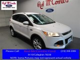 2016 White Platinum Metallic Ford Escape Titanium #110163757