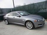 2013 Lunar Grey Metallic Jaguar XF 3.0 AWD #110164148