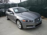 2013 Jaguar XF Lunar Grey Metallic