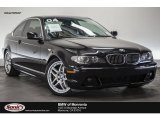 2004 Black Sapphire Metallic BMW 3 Series 330i Coupe #110164008