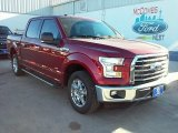 2016 Ruby Red Ford F150 XLT SuperCrew #110163772