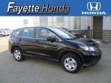 2013 Crystal Black Pearl Honda CR-V LX AWD #110193820