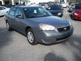 2007 Dark Gray Metallic Chevrolet Malibu LS Sedan #11015655