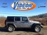 2016 Billet Silver Metallic Jeep Wrangler Unlimited Sport 4x4 #110193875
