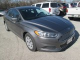 2013 Sterling Gray Metallic Ford Fusion S #110193603