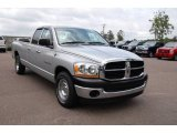 2006 Bright Silver Metallic Dodge Ram 1500 ST Quad Cab #11015676