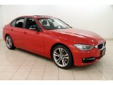 2013 Melbourne Red Metallic BMW 3 Series 328i xDrive Sedan #110193805