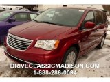 2016 Deep Cherry Red Crystal Pearl Chrysler Town & Country Touring #110193801