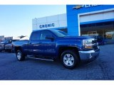 Deep Ocean Blue Metallic Chevrolet Silverado 1500 in 2016