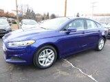 2016 Ford Fusion Deep Impact Blue Metallic
