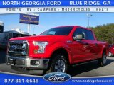 2016 Race Red Ford F150 XLT SuperCrew 4x4 #110193478