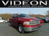 2012 Deep Cherry Red Crystal Pearl Dodge Ram 1500 SLT Quad Cab 4x4 #110221025