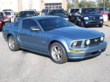 2006 Windveil Blue Metallic Ford Mustang GT Premium Coupe #11015563
