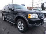 Black Ford Explorer in 2004