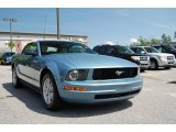 2006 Windveil Blue Metallic Ford Mustang V6 Premium Convertible #11015617