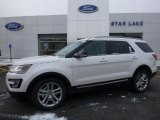 2016 Oxford White Ford Explorer XLT 4WD #110221013