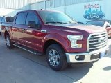 2016 Ruby Red Ford F150 XLT SuperCrew #110220747